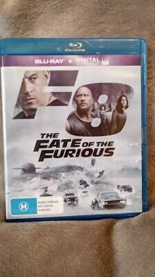 The Fate Of The Furious  8     Blu-Ray : NEW/UNSEALED  REGION B FREE POSTAGE