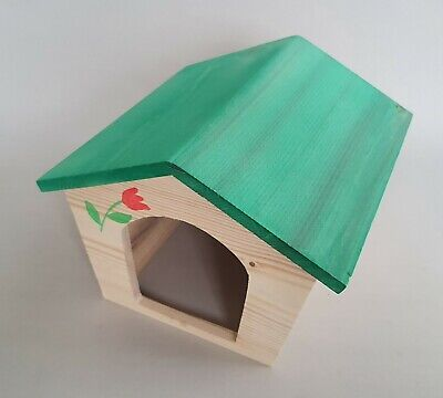 Ferret Wooden House Small Animals Rabbit Hutch Guinea Pig Rodents Pet Hamster