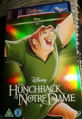 Disney The Hunchback Of Notre Dame (DVD, 2002) with o-ring slipcover. New.