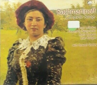 Sergei Rachmaninoff- Complete Songs *Cd 3Pz Brand New Sealed Nuovo Sigillato