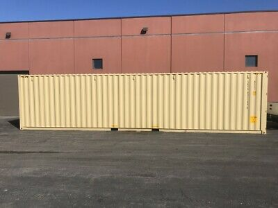 NEW One Trip 40ft HIGH CUBE SHIPPING CONTAINER