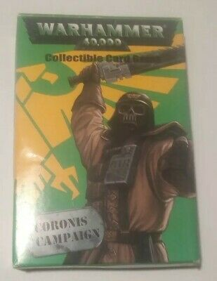 Warhammer 40k ccg Coronis Campaign Rare cards 2//3