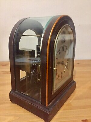 Rare Antique German Made W&H Library Bracket Clock Dual Chime 9 Gongs C1900