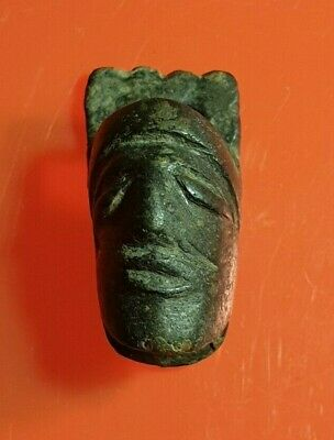 Ancient Roman Bronze Head