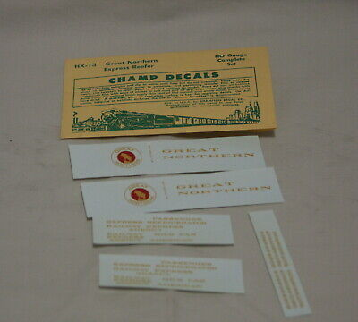 NOS Champ HO Scale Decal Set  HX-9 Missouri Pacific Express Reefer