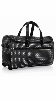 Thirty One Wheels-Up Roller- Roller Only Ditty Dot Bag Duffel Tote NEW