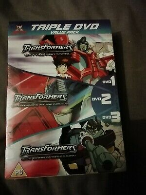 Jetix Transformers Animated Triple DVD Pack 9 Episodes sealed brand new