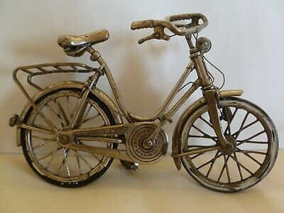 800 Silver Small / Miniature Bicycle By Creazioni Sacchetti - Very  Detailed