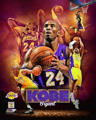 KOBE BRYANT ~ 8x10 Color Photo Picture Collage #24 ~ Los Angeles Lakers