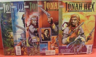 JONAH HEX RIDERS OF WORM AND SUCH #1-5 NEAR MINT COMPLETE SET 1995