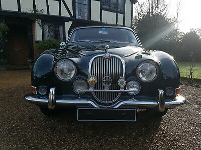 1967 Jaguar S Type 3.8 Manual with Overdrive and Factory Power Steering MK2
