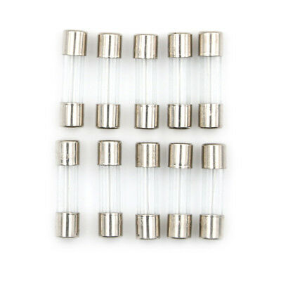 10pcs//lot 5A 250V Slow-Blow Fuse Glass Tube 5 amp Time-Delay T5AL250V 5X20mm