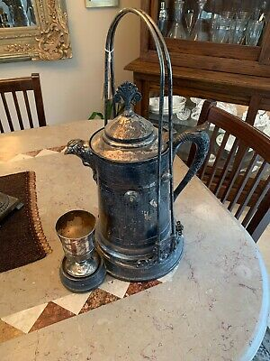 Antique - Victorian Water Pitcher Set -