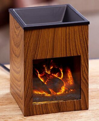 Fireplace Tart Warmer - Small Electric Fireplace for Melting Wax Tarts