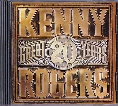 "Kenny Rogers  Cd  "" 20 Great Years """
