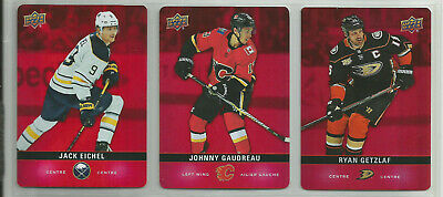 2019-20 Upper Deck Tim Hortons Red Parallel Die-Cut *You Pick*  1 Shipping Fee