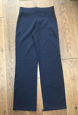 Girls George Navy Blue Trackuit Bottoms / Trousers Size 7-8 Excellent Condition