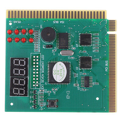 Motherboard Tester Diagnostics Display 4-Digit PC Computer Mother Board AnalyzJC