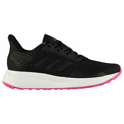 adidas Cloudfoam Pure Womens Shoes Trainers Black/Pink Ladies Running Sneakers