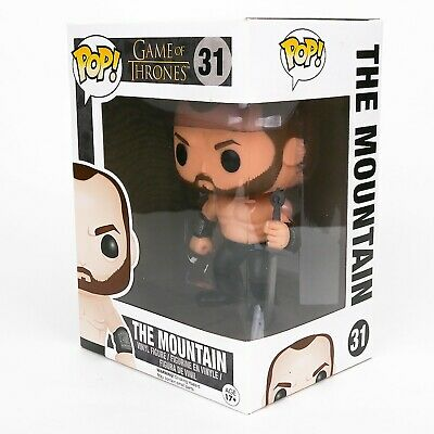Funko Pop Game of Thrones #31 The Mountain Vaulted Retired Damaged Box New Rare