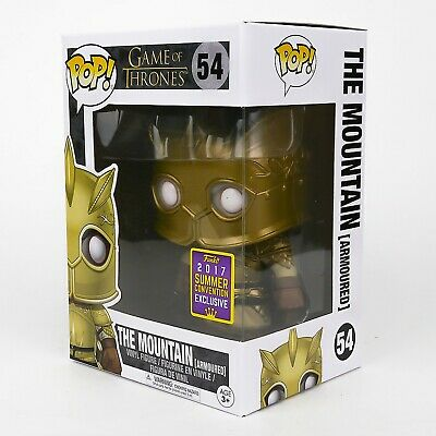 Funko Pop Game of Thrones #54 The Mountain Armoured + Protector Vaulted Retired