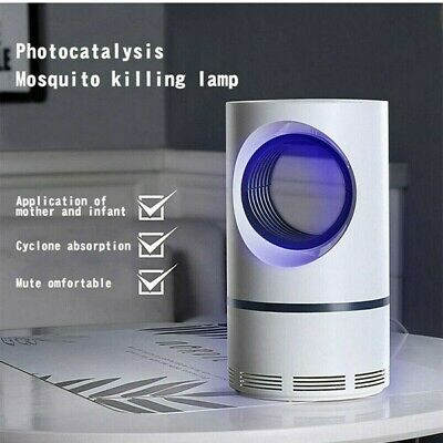 Mosquito Killer Electric UV Light Insect Grill Fly-Bug Zapper Trap Catcher Lamp