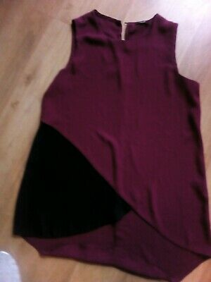 Girls sleeveless blouse from Kylie range age 13yrs