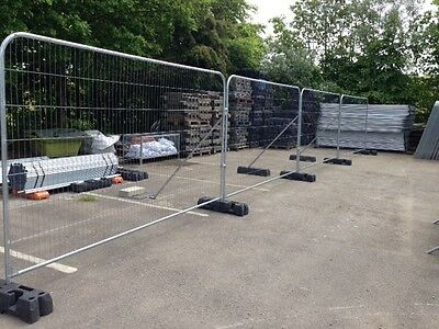 Temporary site fencing anti climb mesh site security panels