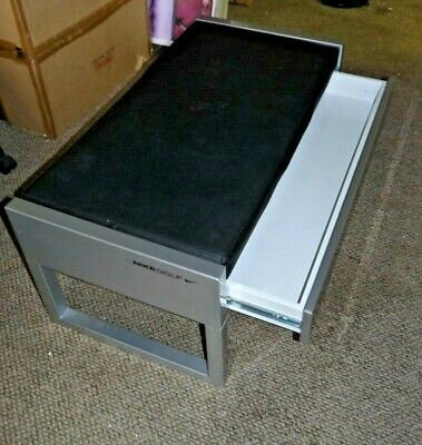 Nike Golf Shoe Fitting / Sitting Bench with Drawer for Store or Closet
