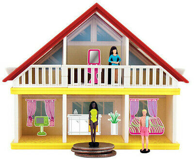 World's Smallest BARBIE DREAMHOUSE Miniature Malibu,Swimsuit,Totally Hair Doll