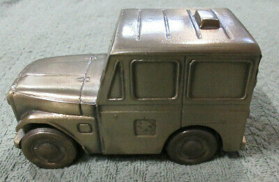 1974 Banthrico Chicago: Metal Jeep Bank
