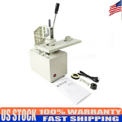 110V Electric Curtain Eyelet Punch Machine Blade 40Mm Aluminum Bracket Grommets
