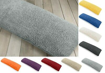 Teddy Bear Fleece Soft Long Body Bolster Nursing Support Pillow Cover Case