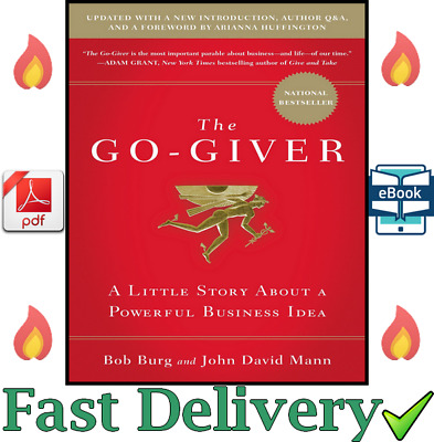 ✅ The Go-Giver: A Little Story About a Powerful Business Idea by Bob Burg ✅ 💥