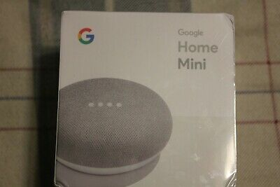 NEW Google Home Mini Smart Speaker with Google Assistant Chalk GA00210-US
