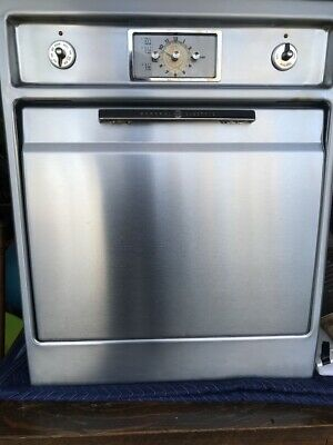 Vintage 1950s Stainless Steel GE, General Electric Wall Oven