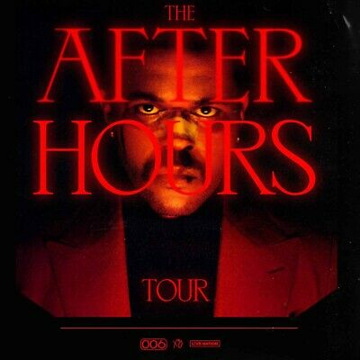 2 Places VIP3 The Weeknd After Hours Tour 12/11/2020 Accorhotels Arena
