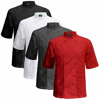 Chef Code 2-PACK Cool Breeze Side Vent Chef Coat