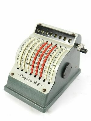 Calculadora Regina B8  Año 1956 Adding Machine Calculator Rechenmaschine