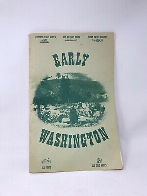 Early Washington' Collectible Atlas By R.n. Preston, State History (1974 Pb)