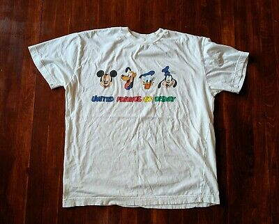 Vintage United Colors Of Benetton Disney T Shirt Size XL, Vintage Disney Friends