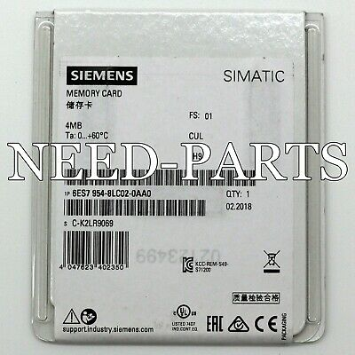 1PC NEW  Siemens 6ES7 954-8LC02-0AA0 6ES7954-8LC02-0AA0