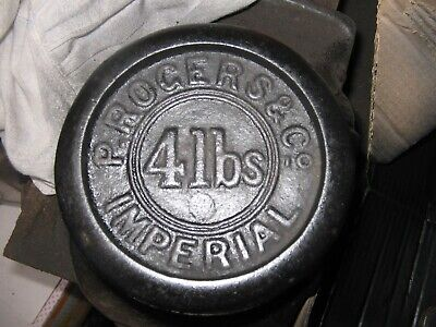 Vintage 4lb WEIGHT