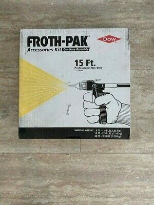 DOW Froth-Pak 15' Gun/Hose Assembly Accessories Kit 158398