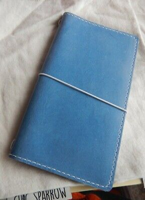 Chic Sparrow Travelers notebook~ Weekly~Blue Jay~New Condition! ~ FREE Shipping!