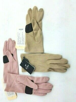 Echo Soft Wool/Cashmere Blend Gloves Pick Sz & Col Touchscreen Compatible 632642