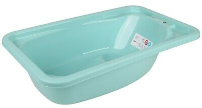 Green Baby Bathtub Baby Bath Suitable From Birth Head Support & Soap Tray