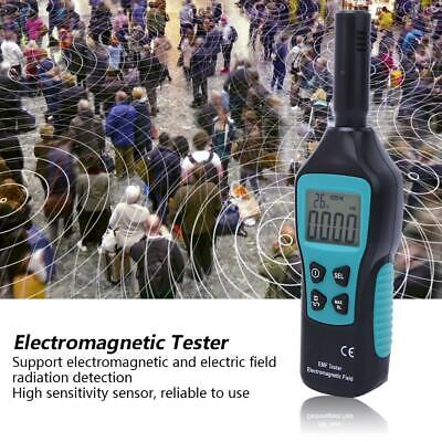 FY876 NEW Electromagnetic Radiation Tester Electric Magnetic Field Detector