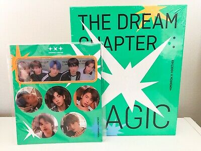 TXT TOMORROW X TOGETHER Dream Chapter: Magic Album + Poster + Preorder Gift NEW
