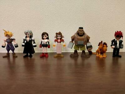 FINAL FANTASY VII 7 REMAKE Mini figure set of 7 Square Enix SquareEnix FF7